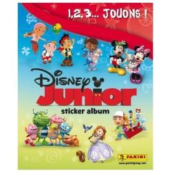 ALBUM VIDE PANINI DISNEY JUNIOR 1, 2, 3... JOUONS !!