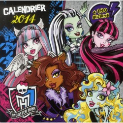 CALENDRIER 2014 PANINI MONTER HIGH