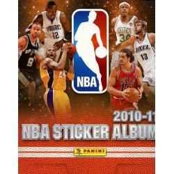 "Album VIGNETTE PANINI VIDE ""NBA STICKERS ALBUM"" SAISON 2010-2011"