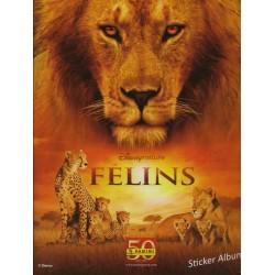 "ALBUM VIDE PANINI DISNEY NATURE""FELINS"""