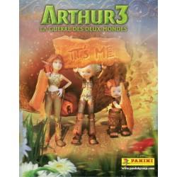 """ALBUM VIDE PANINI """"Arthur 3 la Guerre des deux Mondes"""""""