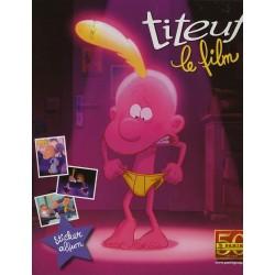 """ALBUM VIDE PANINI """"TITEUF, LE FILM"""""""