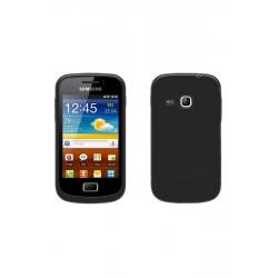 COQUE Silicone NOIR Samsung S6500 / Galaxy Mini 2