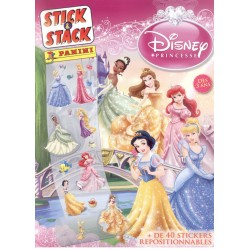 ALBUM STICKERS PANINI DISNEY DISNEY PRINCESSE STICK&STACK