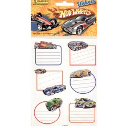 STICKERS SHEETS PANINI HOT WHEELS BOOK STICKERS
