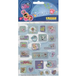 STICKERS SHEETS PANINI LITTLEST PET SHOP