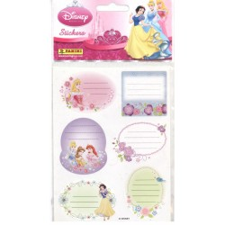 STICKERS SHEETS PANINI PRINCESSE DISNEY - BOOK STICKERS