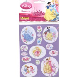 STICKERS SHEETS PANINI PRINCESSE DISNEY