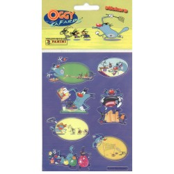 STICKERS SHEETS PANINI Oggy et les Cafards