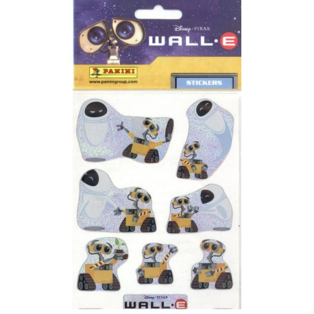STICKERS SHEETS PANINI DISNEY PIXAR WALL.E