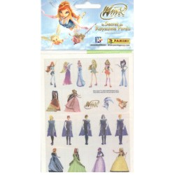 STICKERS SHEETS PANINI DISNEY WINX le secret du royaume perdu