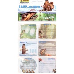STICKERS SHEETS PANINI L'AGE DE GLACE 3 - BOOK STICKERS