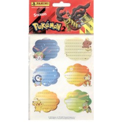 STICKERS SHEETS PANINI POKEMON 2 - BOOK STICKERS