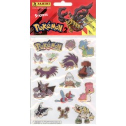 STICKERS SHEETS PANINI POKEMON 2