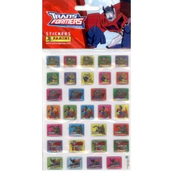 STICKERS SHEETS PANINI TRANSFORMERS