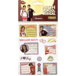 STICKERS SHEETS PANINI DISNEY HIGH SCHOOL MUSICAL - BOOK STICKERS