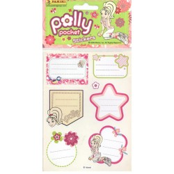 STICKERS SHEETS PANINI POLLY POCKET - BOOK STICKERS