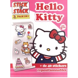 ALBUM STICKERS PANINI HELLO KITTY STICK & STACK