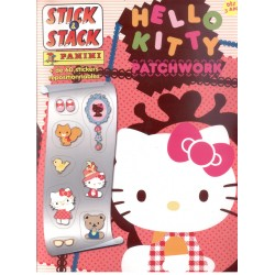 ALBUM STICKERS PANINI HELLO KITTY PATCHWORK STICK & STACK