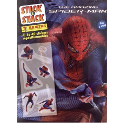 ALBUM STICKERS PANINI THE AMAZING SPIDER MAN STICK & STACK