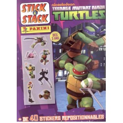 ALBUM STICKERS PANINI TORTUE NINJA STICK&STACK