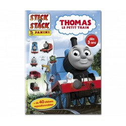 ALBUM STICKERS REPOSITIONNABLES PANINI THOMAS LE PETIT TRAIN STICK & STACK