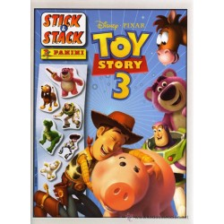 ALBUM STICKERS PANINI DISNEY PIXAR TOY STORY 3 STICK & STACK