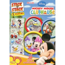 ALBUM STICKERS PANINI DISNEY MICKEY MOUSE CLUB HOUSE STICK & STACK