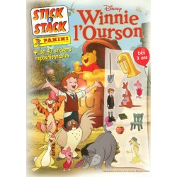 "ALBUM STICKERS PANINI DISNEY ""WINNIE L'OURSON"" STICK & STACK"