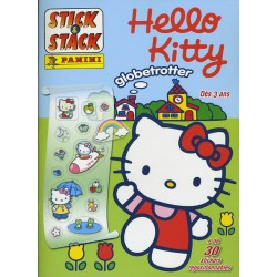 ALBUM STICKERS PANINI Hello Kitty globetrotter STICK & STACK