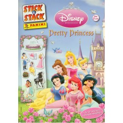 "ALBUM STICKERS PANINI DISNEY ""PRETTY PRINCESS"" STICK & STACK"