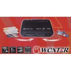 Lecteur cartes mémoire et cartes à puce WOXTER