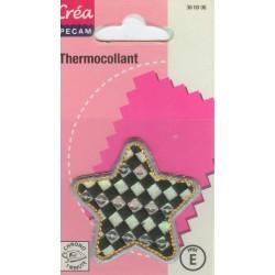 Ecusson Thermocollant ETOILE DAMIER CREA PECAM