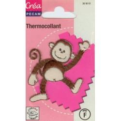 Ecusson Thermocollant SINGE CREA PECAM