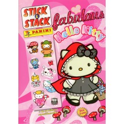 ALBUM STICKERS PANINI FABULOUS HELLO KITTY STICK & STACK
