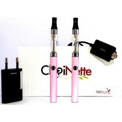 COFFRET E-CIGARETTE CLOPINETTE CLOPIPLUME E-SMART ROSE