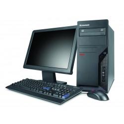 "PC  COMPLET LENOVO AMD x2 5000B-4 GO-160GO-ATI RADEON 3100 DVDrw-WIN 7-ECRAN 19"""